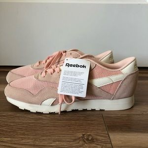 Reebok Classic Pink Suede Shoes